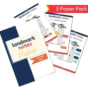 landmark notes for kids