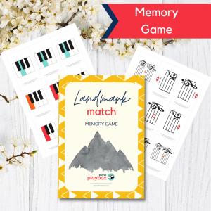Games for learning Landmark notes