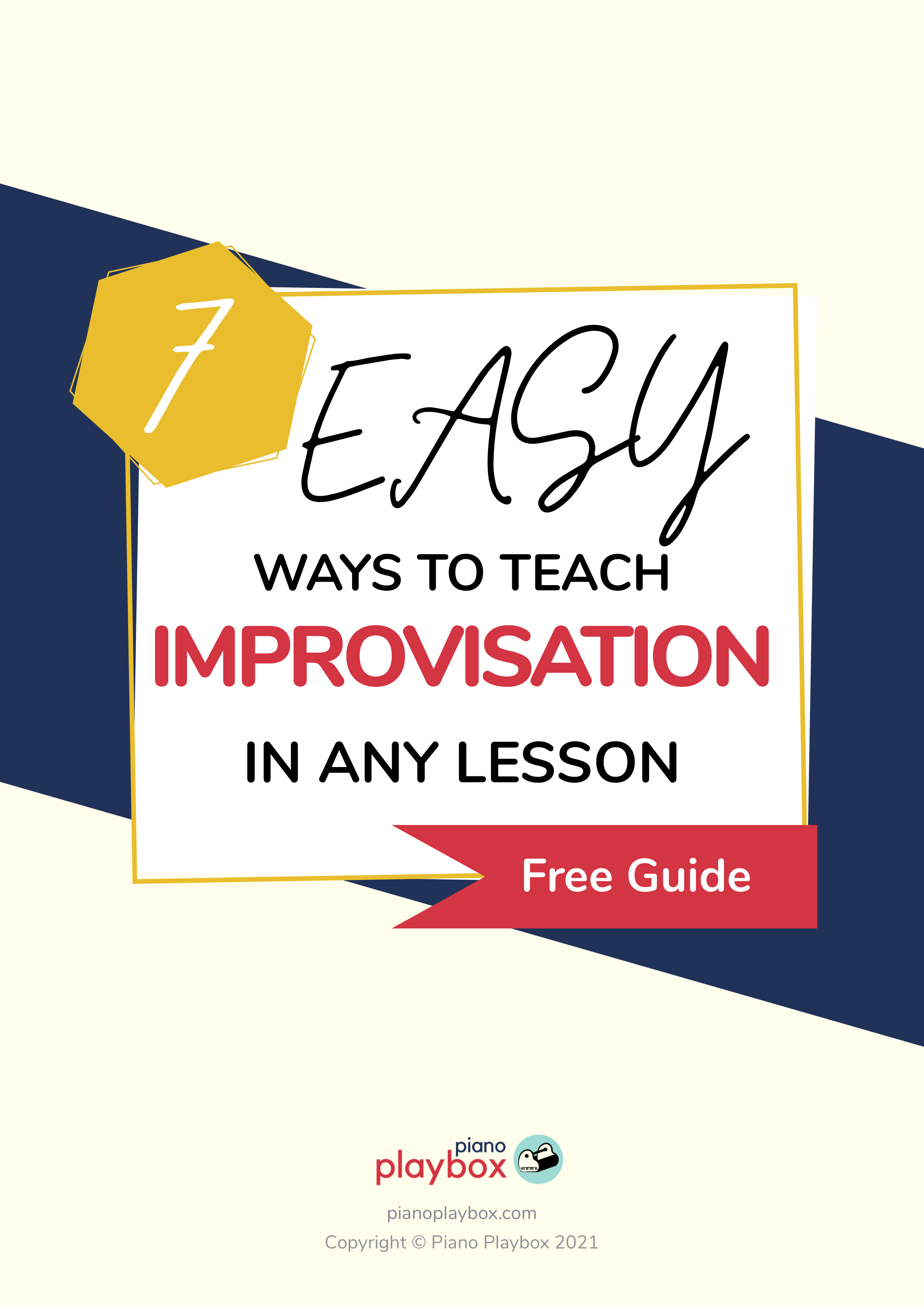 How to teach improvisation to kids