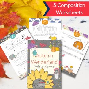 Composing worksheets for kids